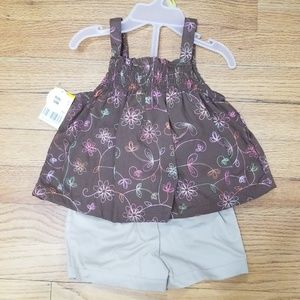 short and tank top toddler outfit